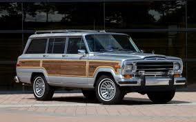 1987 jeep wagoneer totd should the jeep wagoneer suv challenge tahoe or traverse