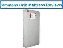 Simmons Crib Mattress Reviews Simmons Beautyrest Beginnings Crib And Toddler Mattress Review