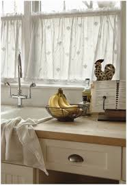 Modern Kitchen Curtains And Valances by Kitchen Cream Brown Mini Curtain Window Kitchen Window Curtains