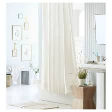 amazon com mildew resistant fabric shower curtain waterproof