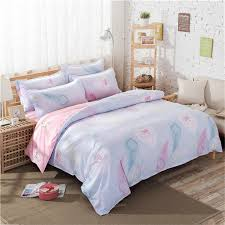 Peacock Feather Comforter Nursery Beddings Peacock Feather Duvet Cover Set In Navy Blue In