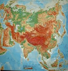 Eurasia Map Eurasia Red Babar Stacks Rocks
