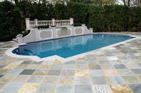 stone pathway in ground pool patio ideas hostelgarden net idolza
