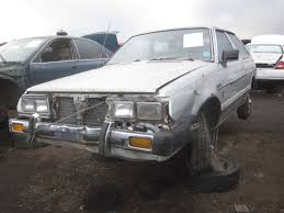 rare subaru models junkyard find 1983 honda accord u2014 no wait subaru gl hatchback