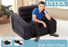 Inflatable Sofa Bed Mattress by Intex Inflatable Pull Out Chair And Twin Air Mattress