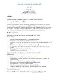 Skills For Cashier Resume Cover Letter Resume Examples For Cashier Resume Examples For