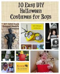 10 easy halloween costumes for boys kiddie academy