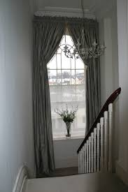 box pleated italian strung silk curtains by sinclairs edinburgh