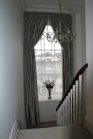 box pleated italian strung silk curtains by sinclairs edinburgh italian strung heading