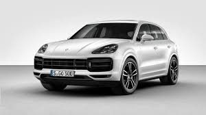 porsche cayenne white 2019 porsche cayenne turbo 550 hp will help get the to