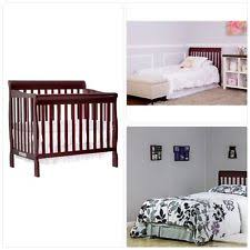 Mini Crib Size On Me 3 In 1 Toddler Bed Baby Crib Aden Convertible Mini