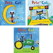 pete the cat nursery rhymes 3 book set