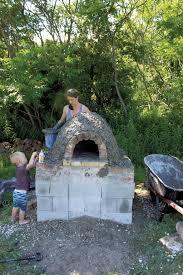 backyard pizza oven habitat kids vt small people big ideas