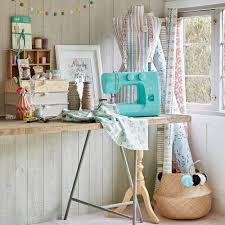 Pretty Up Your Sewing Room With These Inspiring Decorating Ideas