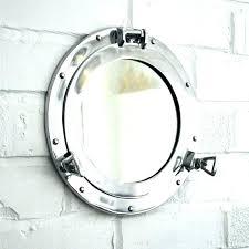 porthole mirrored medicine cabinet porthole medicine cabinet nautical royal naval porthole mirrored