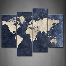 Large World Map Canvas by World Map Canvas Typo World Map Canvas World Map Canvas Typo