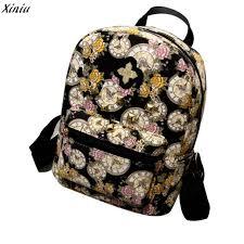 designer rucksack damen 2017 mode mini rucksack für frauen damen uhr blumen tasche