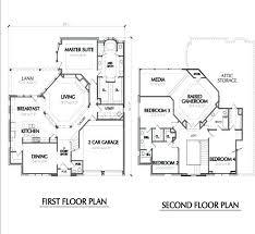 two storey residential floor plan floor plan for two storey house two floor house blueprints two story