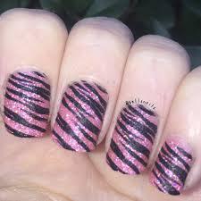 animal print nail art 31 day nail challenge day 13 hellz nails