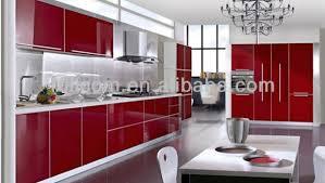 Gloss Red Kitchen Doors - surprisingly high gloss red kitchen doors 23 photographs home