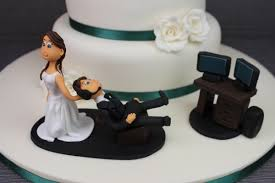 nerdy cake toppers wedding cake toppers nerdy image creative cakes ireland wedding