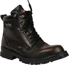 buy boots flipkart bacca bucci outlandish steel toe boots buy brown color bacca