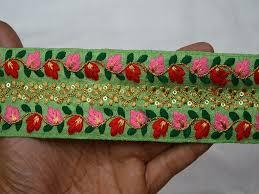 craft ribbon wholesale wholesale trims silk embroidered ribbon sewing trim craft ribbon