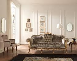 Fabric Sofa Set Estro Salotti Edward Traditional Italian Fabric Sofa Set
