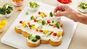 tree shaped crescent veggie appetizers recipe pillsbury com