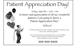 patient appreciation day simplified acupuncture marketing