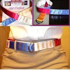 ribbon belts custom show ribbon belt jlribbongear on artfire