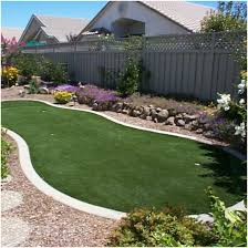 backyards innovative low maintenance with artificial grass 121