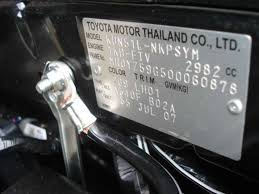 toyota fortuner engine number location www g2is us