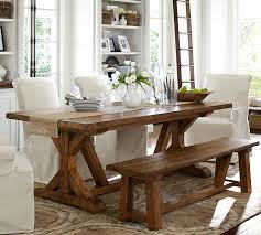 Pottery Barn Wells Extending Dining Table Devirian House - Pottery barn dining room set