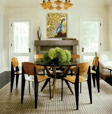 dining room centerpieces black and white rugs black and white area