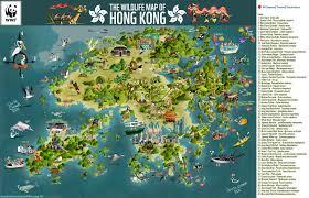 Hummingbird Migration Map Green Humour The Wildlife Map Of Hong Kong