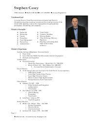 Resume Bio Examples by Stephen Casey Resume Main