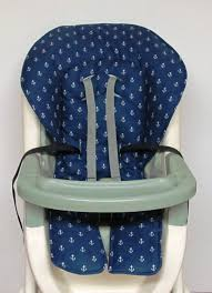 Eddie Bauer Light Wood High Chair Nautical High Chair Cover Graco Baby Accessory Replacement Cover