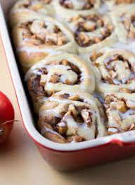 thanksgiving rolls recipe baked apple cinnamon rolls