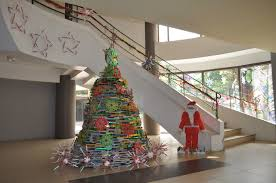 christmas decorations from recycled materials u2013 decoration image idea