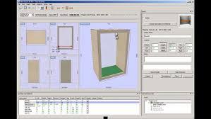 Kitchen Cabinet Design Software Free Kitcad Free 2d And 3d Kitchen Design Software Cabinet Designer For