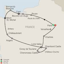 Versailles France Map by 2017 Escorted Tours Deal