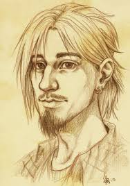 saunders portrait pencil drawing by oomizuao on deviantart