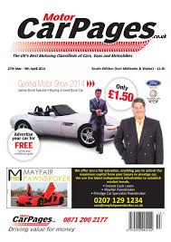 motor car pages south inc midlands wales 26th march 2014 by