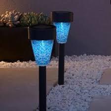 Solar Stake Garden Lights - solar light mosaic ball solar stake light available at
