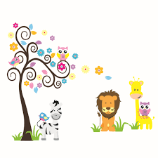 stickers music picture more detailed picture about scroll tree scroll tree tiger lion zebra wall sticker animal wall decal for kids rooms removable vinyl art