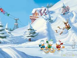 free disney winter wallpaper wallpapersafari