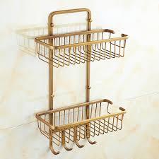 Bathroom Basket Storage by Online Get Cheap Vintage Bathroom Shelf Aliexpress Com Alibaba