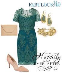 what to wear to a winter wedding green cocktail dress pretty