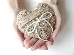 ring bearer pillow reuse as ornament wedding ring